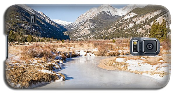 Winter At Horseshoe Park In Rocky Mountain National Park Galaxy S5 Case