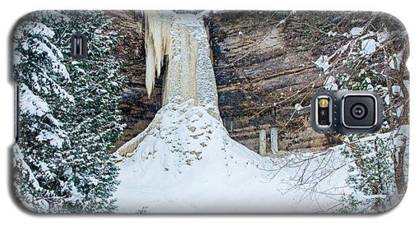 Winter At Munising Falls Galaxy S5 Case