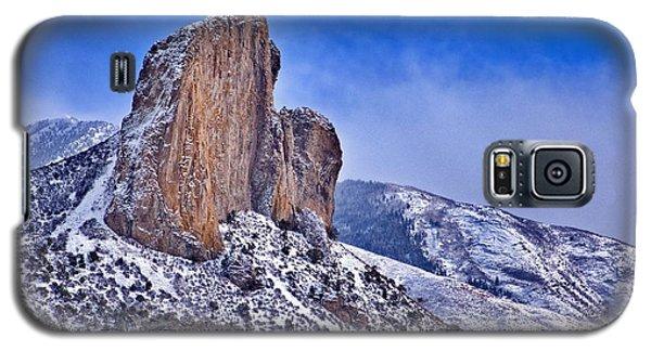 Winter At Needlerock Galaxy S5 Case