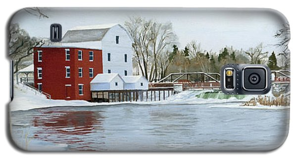 Winter At Phelps Mill Galaxy S5 Case