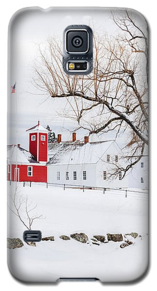 Galaxy S5 Case featuring the photograph Winter At Shaker Village by Robert Clifford