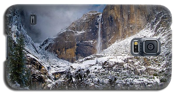 Winter At Yosemite Falls Galaxy S5 Case