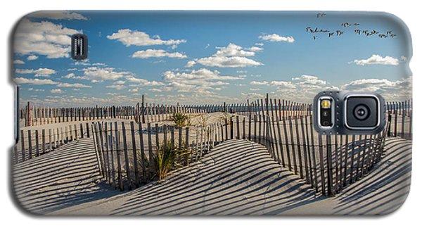 Winter Beach 9528 Galaxy S5 Case
