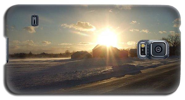 Galaxy S5 Case featuring the photograph Winter Beauty  by Deborah DeLaBarre