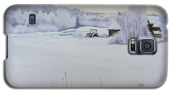 Winter Blanket Galaxy S5 Case by Martin Howard