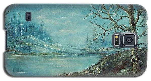 Winter Blue Galaxy S5 Case