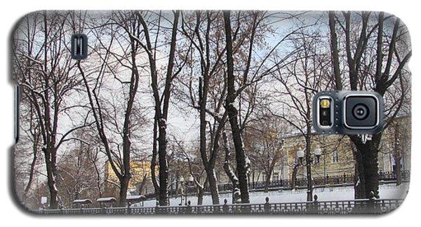 Winter Boulevard Galaxy S5 Case by Anna Yurasovsky