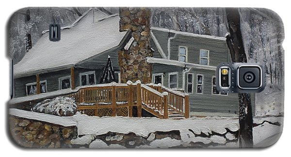 Winter - Cabin - In The Woods Galaxy S5 Case
