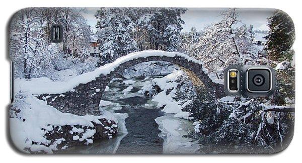 Winter - Carrbridge - Scotland Galaxy S5 Case