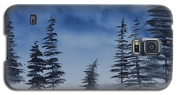 Galaxy S5 Case featuring the painting Winter Chill by Jennifer Muller