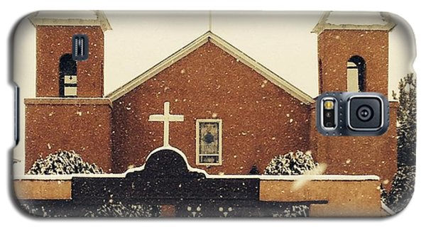 Winter Church Galaxy S5 Case