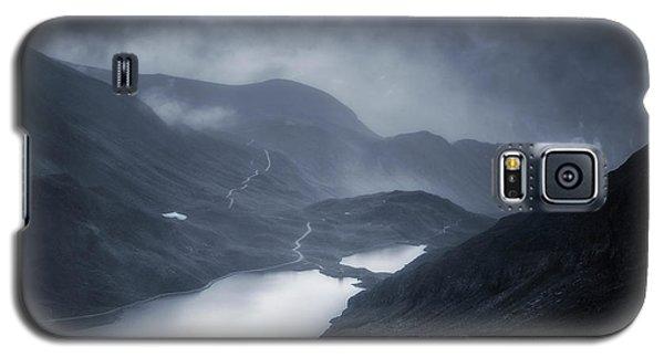 Cold Galaxy S5 Case - Winter Comes by Oskar Baglietto