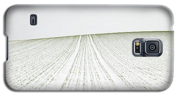 Cold Galaxy S5 Case - Winter Crop by Martin Rak