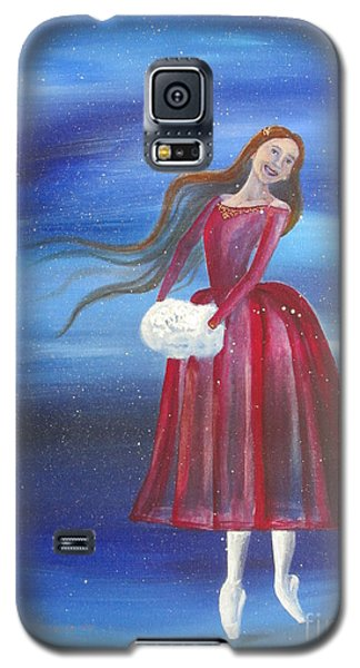 Winter Dancer3 Galaxy S5 Case