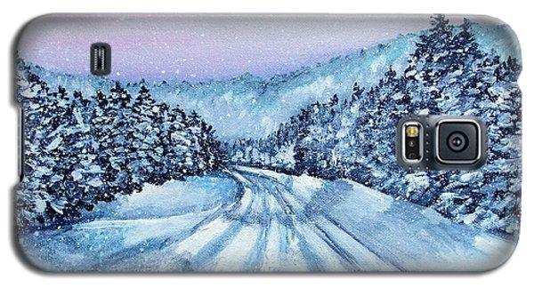 Winter Drive Galaxy S5 Case by Shana Rowe Jackson