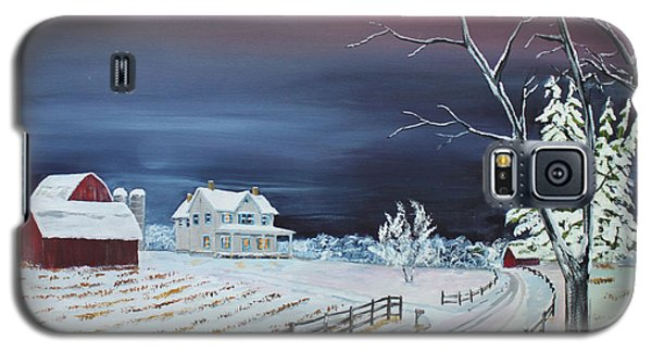 Winter Dusk Galaxy S5 Case by Jack G  Brauer