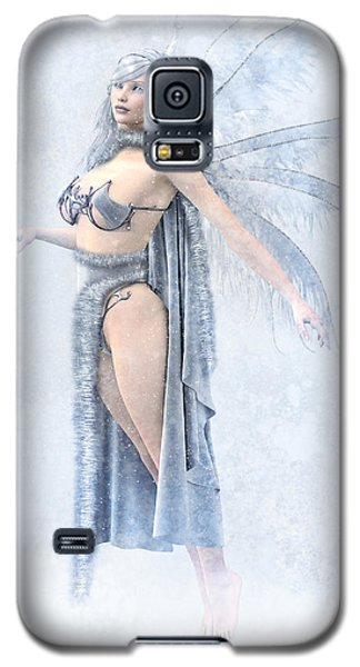 Winter Fairy Galaxy S5 Case
