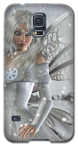 Winter Fairy In The Snow Galaxy S5 Case