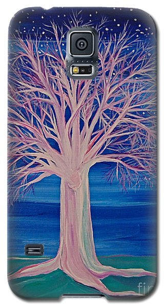 Winter Fantasy Tree Galaxy S5 Case