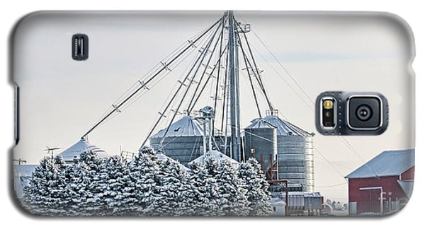 Winter Farm  7365 Galaxy S5 Case