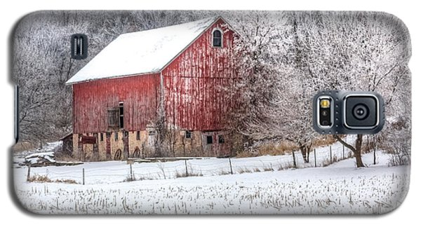 Winter Farm Galaxy S5 Case by Kelly Marquardt