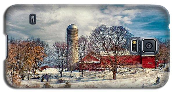 Winter Farm Galaxy S5 Case