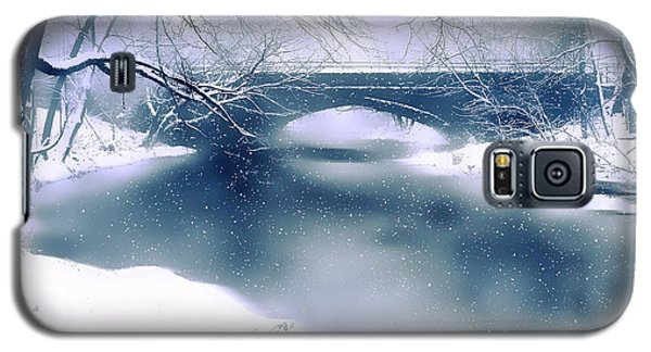 Winter Haiku Galaxy S5 Case by Jessica Jenney