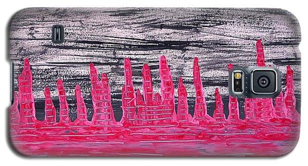 Winter Hoodoos Original Painting Galaxy S5 Case