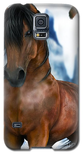 Winter Horse Galaxy S5 Case