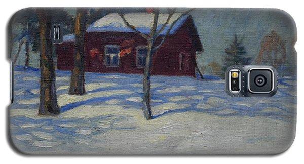 Winter House Galaxy S5 Case