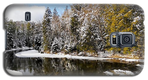 Galaxy S5 Case featuring the photograph Winter Impressions ... by Juergen Weiss