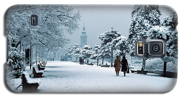 Winter In Belgrade Galaxy S5 Case