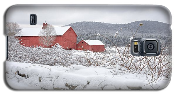 Winter In Connecticut Galaxy S5 Case