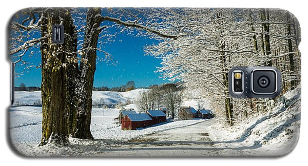 Winter In Vermont Galaxy S5 Case
