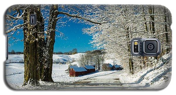Winter In Vermont Galaxy S5 Case
