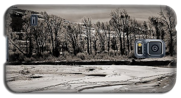 Galaxy S5 Case featuring the photograph Winter Light by J L Woody Wooden