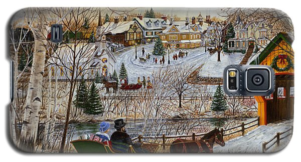 Winter Memories 1 Of 2 Galaxy S5 Case