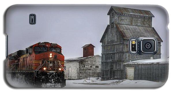 Winter Mixed Freight Through Castle Rock Galaxy S5 Case by Ken Smith