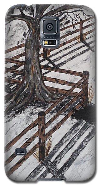 Winter Moon Shadow Galaxy S5 Case by Jeffrey Koss