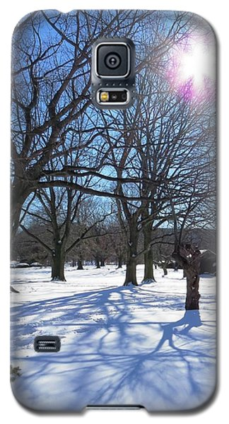 Winter Morning Boston Back Bay  Galaxy S5 Case