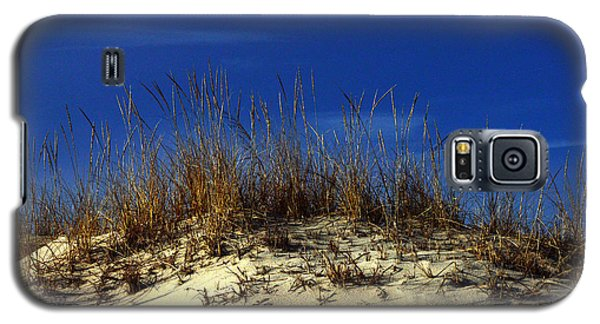 Galaxy S5 Case featuring the photograph Winter Morning On The Dunes by Bill Swartwout