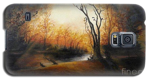 Winter Night Galaxy S5 Case by Sorin Apostolescu