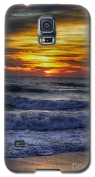 Winter North Carolina Sunrise Galaxy S5 Case