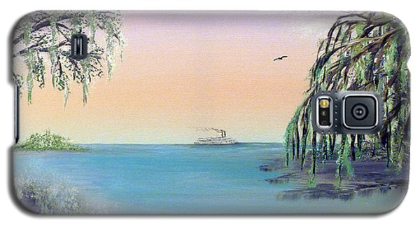 Winter On Lake Ponchartrain Galaxy S5 Case by Alys Caviness-Gober