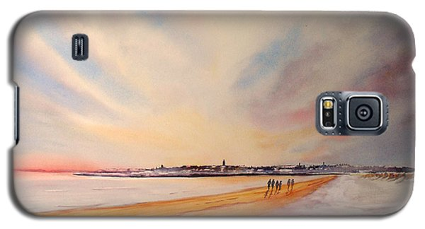 Winter On St Andrews Scotland Galaxy S5 Case