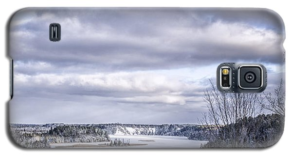 Winter On The Ausable River Galaxy S5 Case