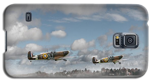 Winter Ops Spitfires Galaxy S5 Case by Gary Eason