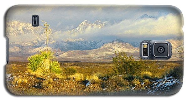Winter In The Organ Mountains Galaxy S5 Case by Jack Pumphrey