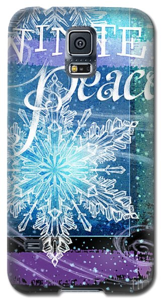 Winter Peace Greeting Galaxy S5 Case