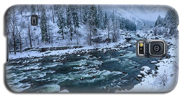 Winter Playground Galaxy S5 Case